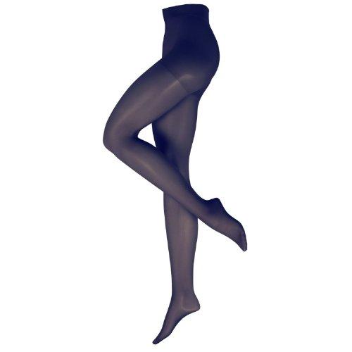 Nur Die Damen Stützstrumpfhose 719100/Fit in Form, Gr. 44 (40-44/M), blau (marine 351)