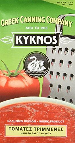 Kyknos passierte Tomaten – 500g Packung, 4er Pack (4 x 500 g)